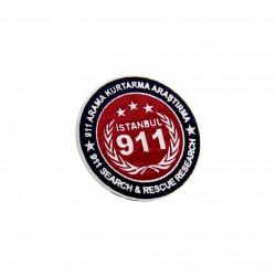 Anı Yüzük - İstanbul Arama Kurtarma Araştırma 911 Rozeti