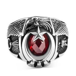 Anı Yüzük - Jandarma Şualı Asker Figürlü Devre Yüzüğü