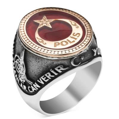 Kahramanlar Polis Gümüş Yüzüğü