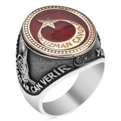 Anı Yüzük - Kahramanlar Uzman Çavuş Gümüş Yüzüğü