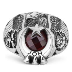Anı Yüzük - Tek Kartal Başlı Pençeli TSK Jandarma Özel Harekat (JÖH) Yüzüğü