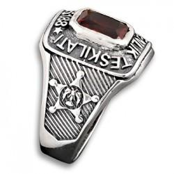 Anı Yüzük - Kare Kesim Özel Güvenlik Yüzüğü (1)