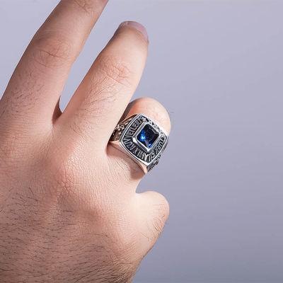 Kare Taşlı Kara Kuvvetleri Yüzüğü