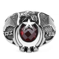 Anı Yüzük - Tek Kartal Başlı Hava Kuvvetleri (HKK) 2016 Yüzüğü