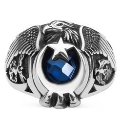Anı Yüzük - Kartal Başlı Hava Kuvvetleri Yüzüğü