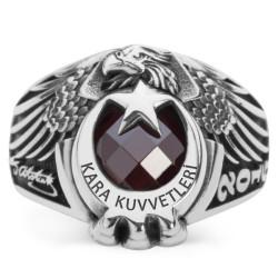 Anı Yüzük - Kartal Başlı Pençeli Kara Kuvvetleri Yüzüğü