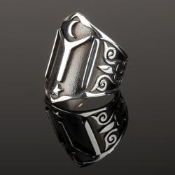 Kayı Boyu Zihgir Yüzüğü - Thumbnail