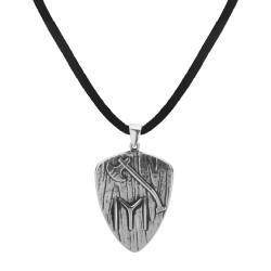 Anı Yüzük - Kayı Turgut Alp Baltalı Gümüş Erkek Kolye
