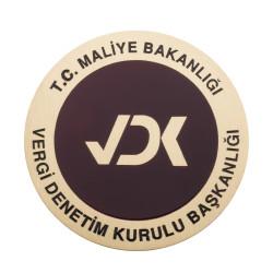 Maliye Bakanlığı Vergi Denetim Kurulu Başkanlığı Cüzdan Rozeti - Thumbnail