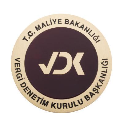 Maliye Bakanlığı Vergi Denetim Kurulu Başkanlığı Cüzdan Rozeti