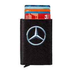 Anı Yüzük - Mercedes Benz Logo Baskılı Otomatik Mekanizmalı Kartlık