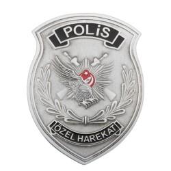 Anı Yüzük - Mineli Polis Özel Harekat Cüzdan Rozeti