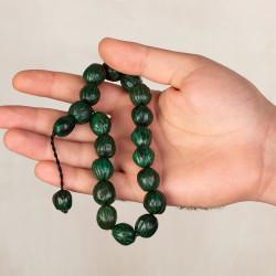 Payitaht Abdülhamid Dizisi Halil Halid Andız Ağacı Tesbihi Yeşil - Thumbnail