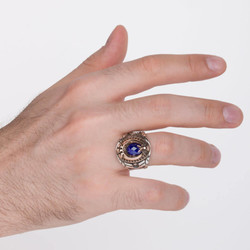Pençeli Jandarma Uzman Çavuş Yüzüğü - Thumbnail