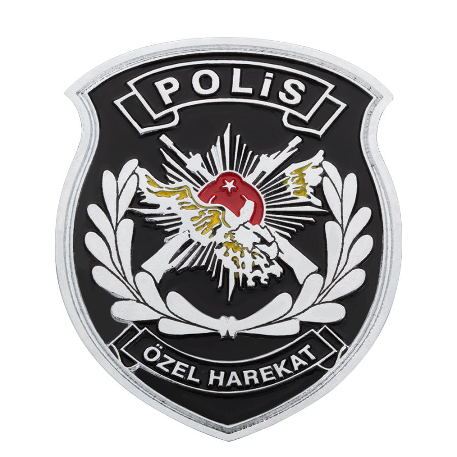 Polis Rozeti Boyama Gazetesujin
