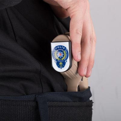 Polis Şarjör Stickerı
