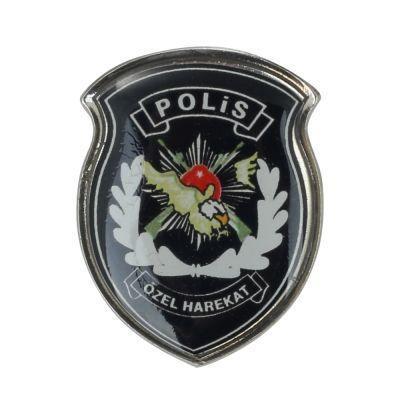 Renkli Polis özel Harekat Yaka Rozeti