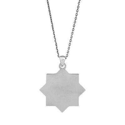 Cihan Kartalı Oasis Gümüş Kolye