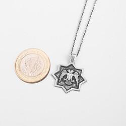 Cihan Kartalı Oasis Gümüş Kolye - Thumbnail