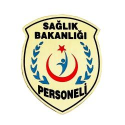 Sağlık Bakanlığı Personeli Yaka Rozeti - Thumbnail