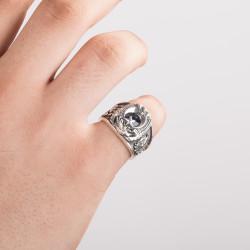 Selçuklu Kartallı Bekçi Yüzüğü - Thumbnail