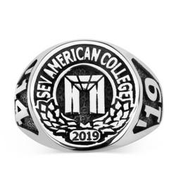 Anı Yüzük - SEV American College 2019 Yüzüğü - Bay
