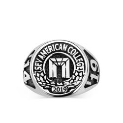 Anı Yüzük - SEV American College 2019 Yüzüğü - Bayan