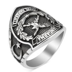 Taşsız Jandarma Özel Harekat (JÖH) Yüzüğü - Thumbnail