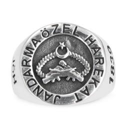 Anı Yüzük - Taşsız Jandarma Özel Harekat Yüzüğü