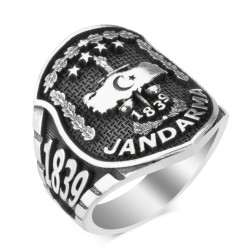 Taşsız Jandarma Yüzüğü - Thumbnail
