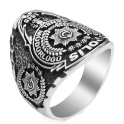 Taşsız Polis Yüzüğü - Thumbnail