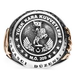 Anı Yüzük - Taşsız Türk Kara Kuvvetleri Yüzüğü