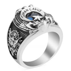 Tek Kartal Başlı Uzman Çavuş Yüzüğü - Thumbnail