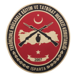 Anı Yüzük - Terörizmle Mücadele Eğitim ve Tatbikat Merkezi Komutanlığı Cüzdan Rozeti