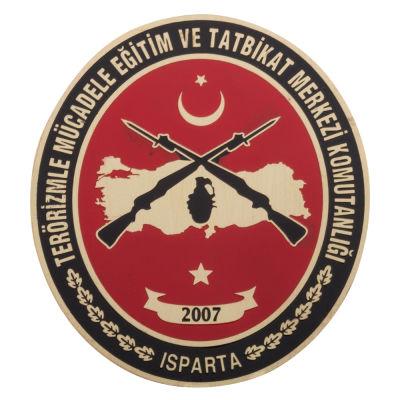 Terörizmle Mücadele Eğitim ve Tatbikat Merkezi Komutanlığı Cüzdan Rozeti