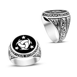 Anı Yüzük - Teşkilatı Mahsusa Kalemkar İşçiliği Gümüş Erkek Yüzüğü
