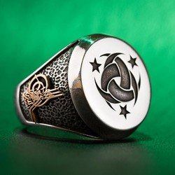 Teşkilât-ı Mahsusa Yüzüğü (Osmanlı Arması-Tuğrası)