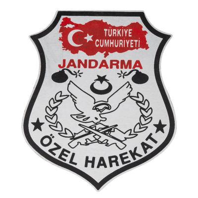 Türkiye Haritalı JÖH Cüzdan Rozeti