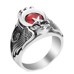 Türk'ün Kudreti Yüzüğü (Osmanlı Arması - Vav) - Thumbnail