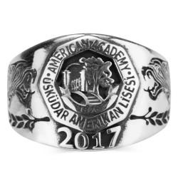 Anı Yüzük - Üsküdar Amerikan Lisesi 2017 Mezuniyet Yüzüğü