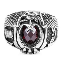 Anı Yüzük - Uzman Çavuş Kara Kuvvetleri İstihkam Yüzüğü